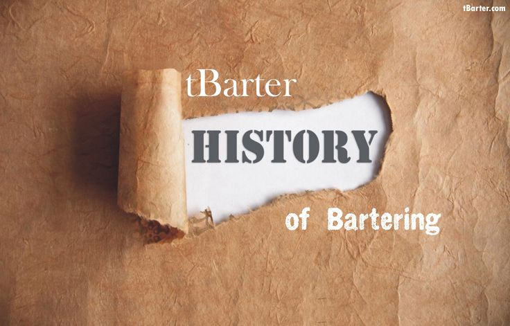 The history of bartering dates back to 5300 BC, when the Mesopotamians would exchange goods for items of similar value.