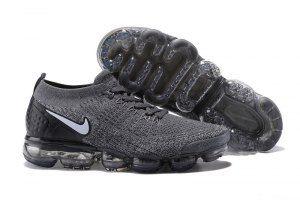 Nike Air VaporMax Flyknit 2 TPU Wolf Grey White Women s Men s Running Shoes 4635c634b