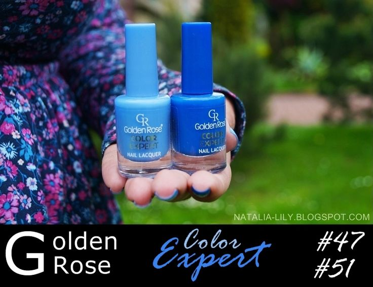natalia-lily: Beauty Blog: GOLDEN ROSE Color Expert nr 47 & nr 51