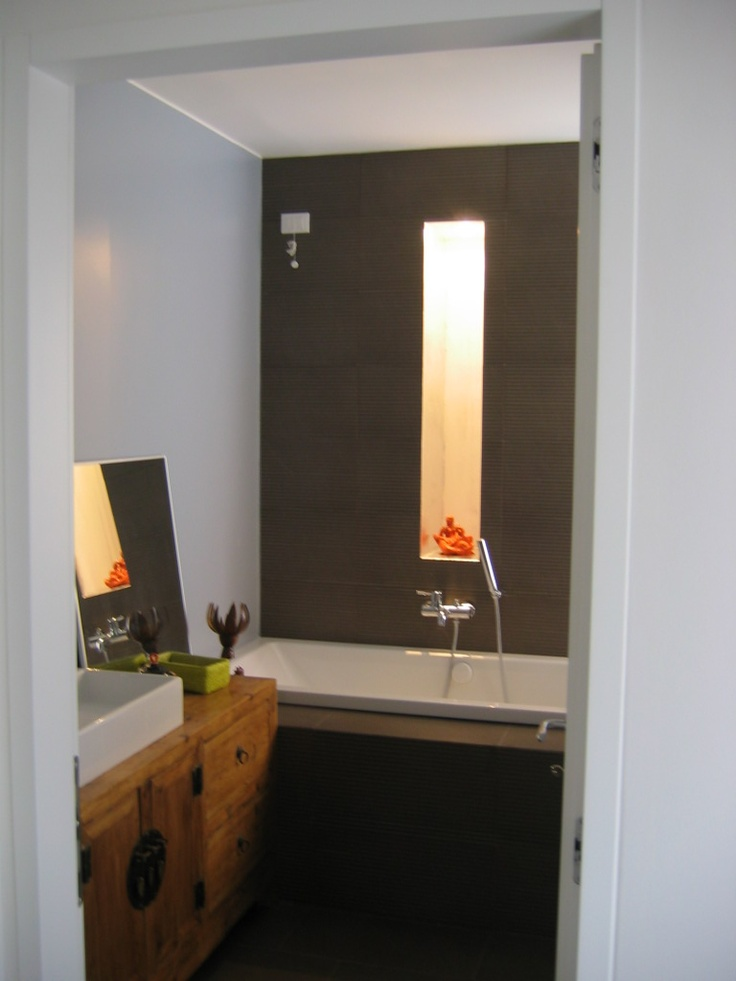 Modern cozy bathroom