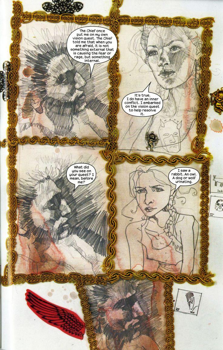 Drdavidmrmack: Alexmusings: David Mack  Echo Arc Of The Daredevil Series…