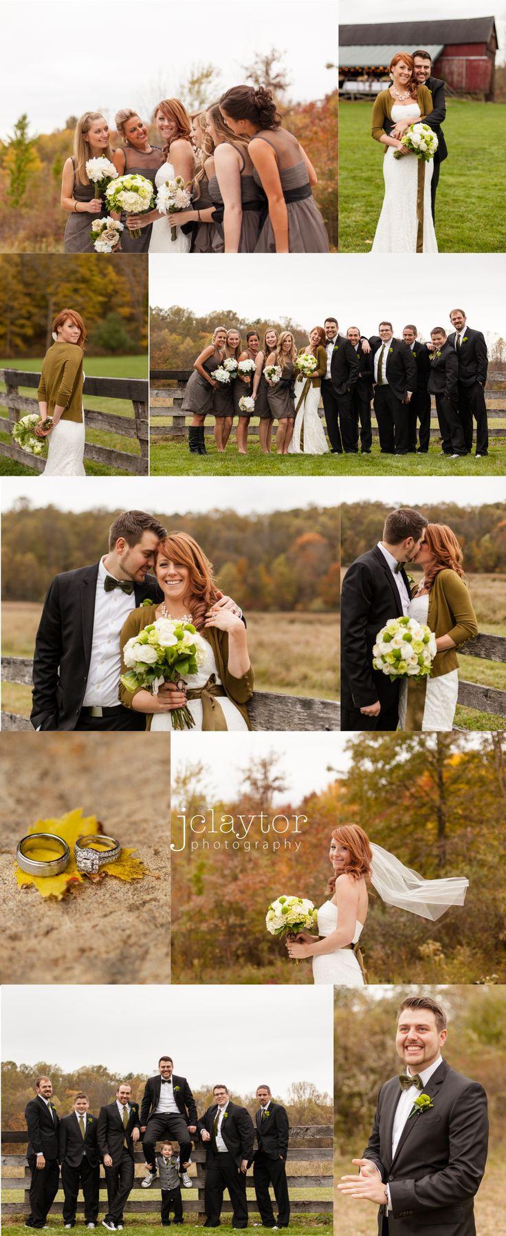 A Beautiful Fall Barn Wedding Wedding Photography By