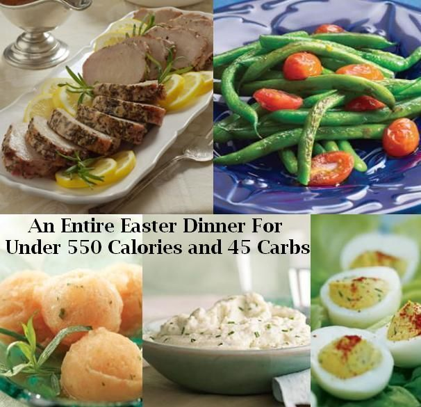Easter Dinner Menu For Those On A Low Carb or Low Calorie Diet | Slimdown With Sandee