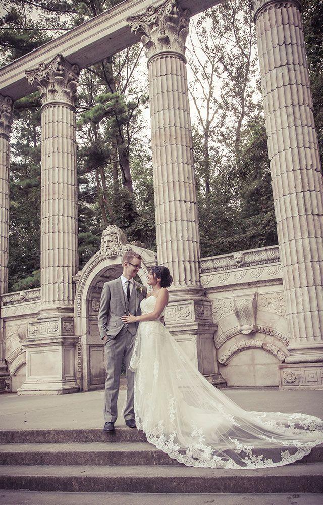 Guildwood Park, Scarborough, Ontario | Vintage Wedding Photography by www.newvintagemedia.ca