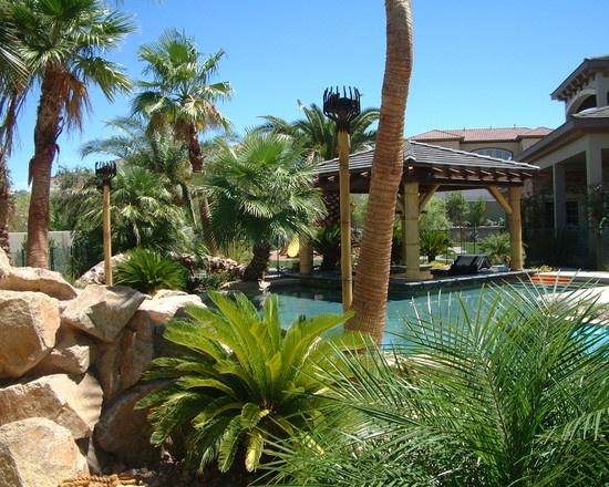 D landscape 39 s design pictures remodel decor and ideas for Garden design las vegas