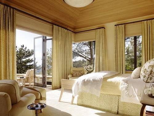 Hilltop Retreat - mediterranean - bedroom - san francisco - Tucker & Marks