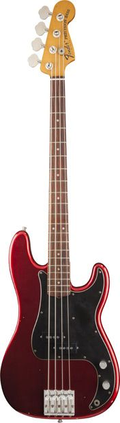 Fender Nate Mendel P Bass RW Candy Apple Red