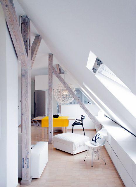 Idées daménagement de combles pour un appartement