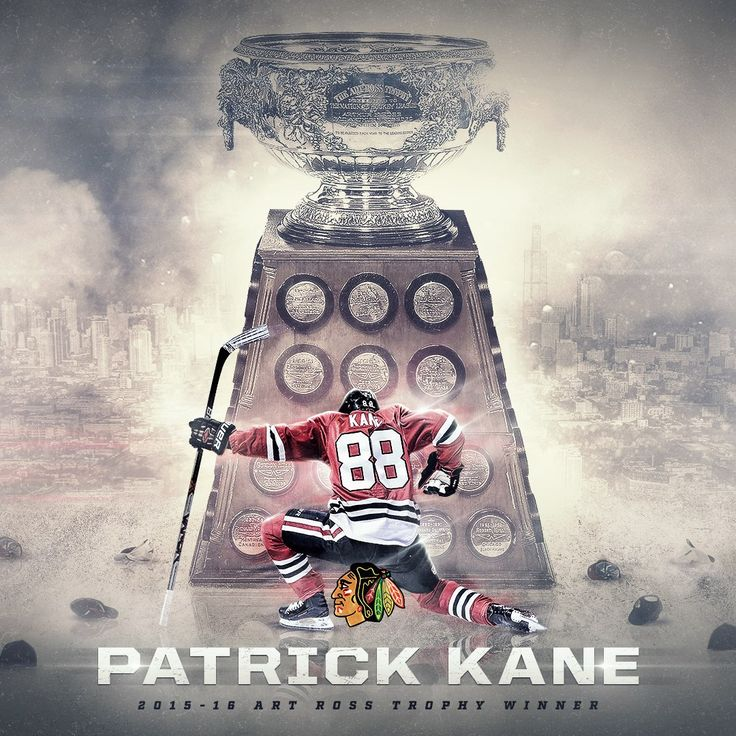 Patrick Kane wins the 2016 Art Ross Trophy as the NHL's leading scorer with a career-high 106 points! #Blackhawks