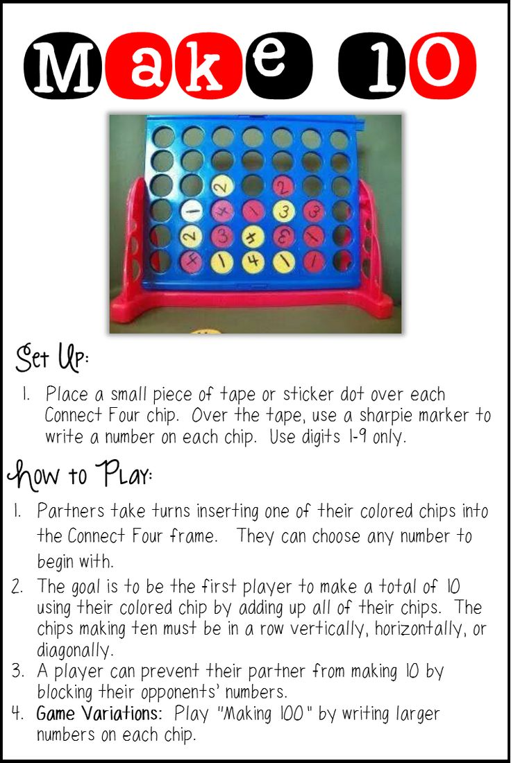 "Four Ways to Use ""Connect Four"" For New Classroom Games"