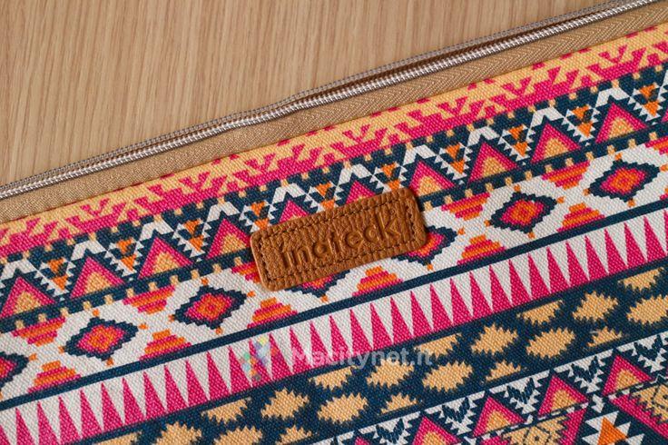 Recensione borsa Inateck per computer 13 stile Bohémien