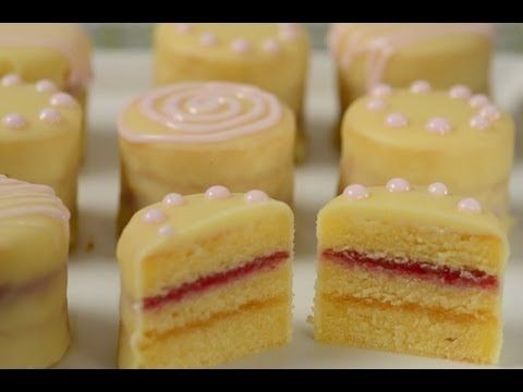Petit Fours Recipe Demonstration - Joyofbaking.com