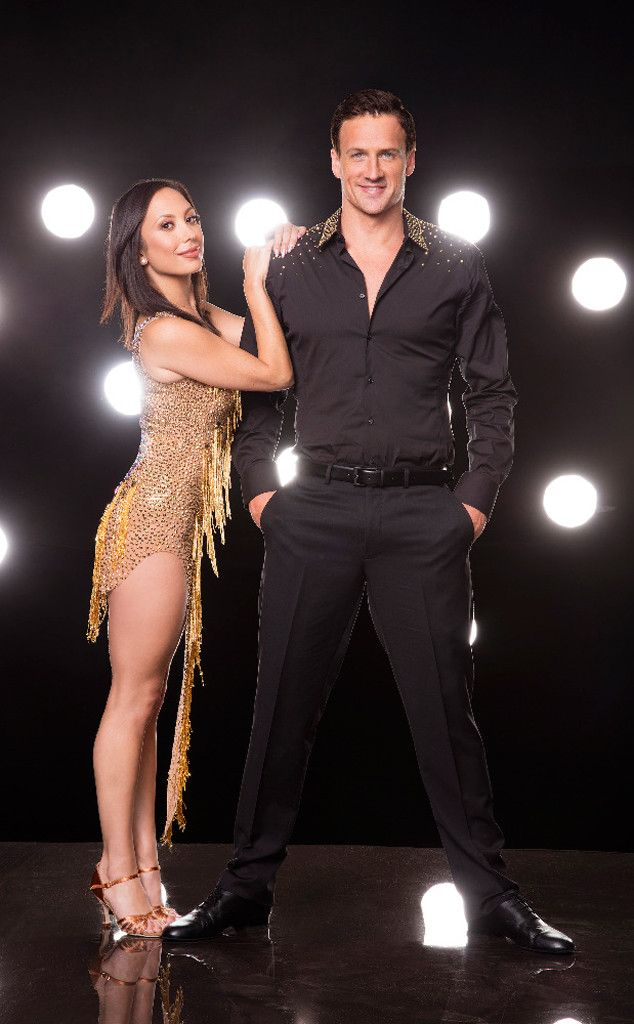 Ryan Lochte and Cheryl Burke from Meet Dancing With the Stars' Season 23 Cast | E! Online