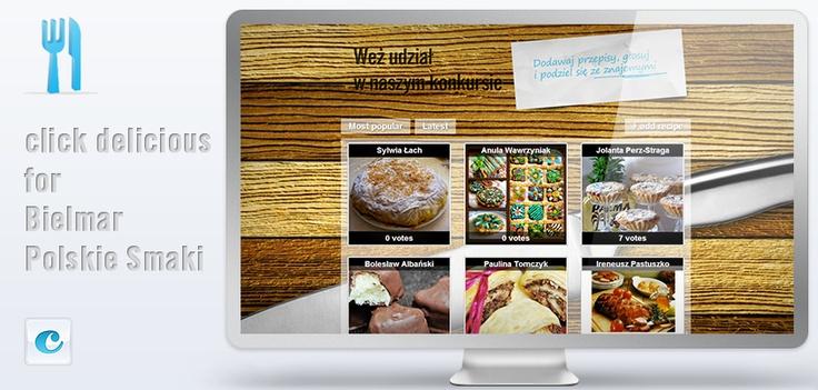 Jeśli kończą Wam się pomysły na wielkanocne potrawy, sprawdźcie przepisy w aplikacji Click delicious na Fanpage'u Polskie Smaki http://on.fb.me/YOZdxN