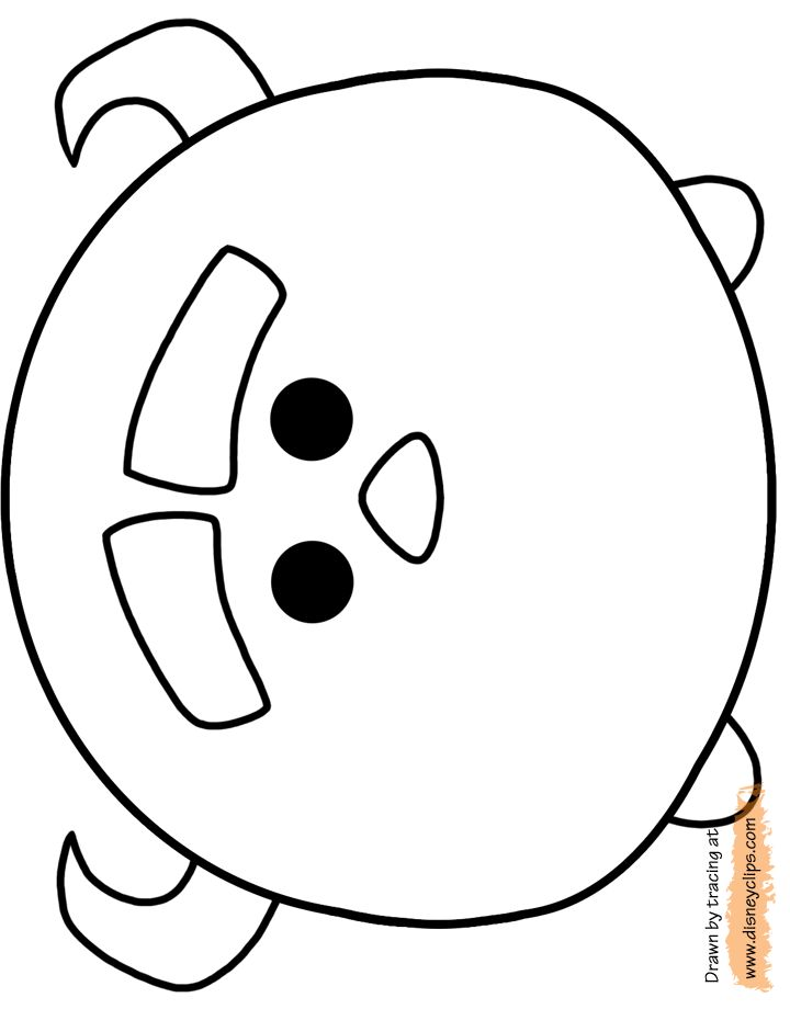 Tsum Tsum printable activities | Disney Tsum Tsum Printable Coloring Pages 2 | Disney Coloring Book
