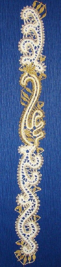 Russian bobbin lace. #Russian #lace