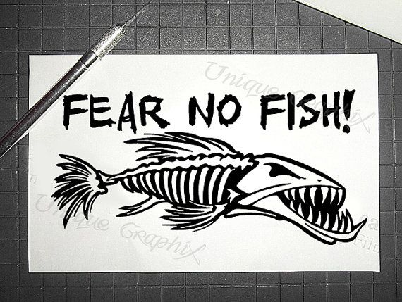 G loomis logo fear no fish the image for Fear no fish