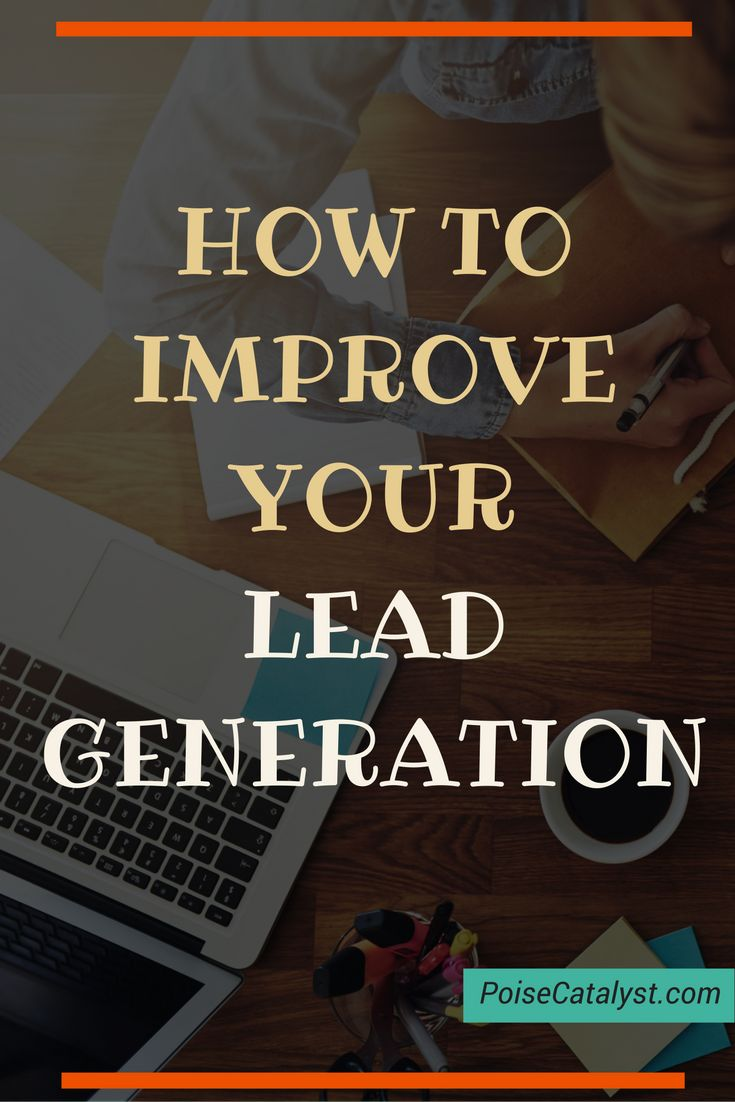 Here are actionable tips on how to improve your lead generation -> click through for the video!