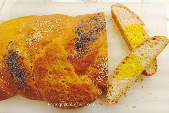 Ricetta della treccia di pane alla ricotta. Semplice e di effetto.