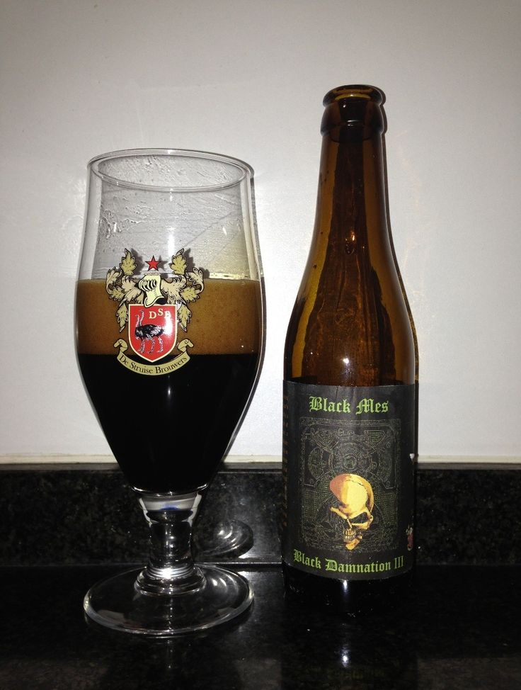 De Struise Brouwers - Struise Black Damnation III-Black Mes(Imperial stout) 13,0% pullo
