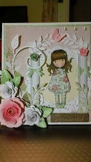 Gorjuss Girl Card
