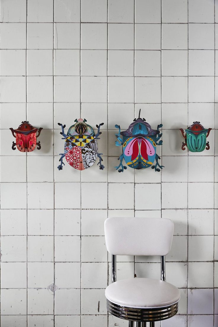 Miho Unexpected Things _ The fabulous beetles in Miho style: four styles in two sizes