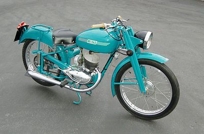 Other Makes : Mi-Val 125 T2 1952 1952 Mi-Val 125cc Made in Italy like: Benelli, Moto Guzzi, Ducati Bevel, MV