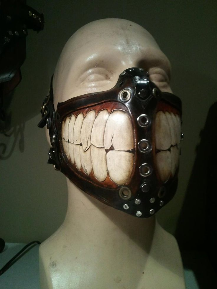 Biker Grin Mask By Skinz N Hydez My Style In 2019