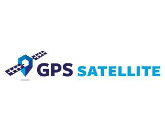 Logo Design - GPS Satellite