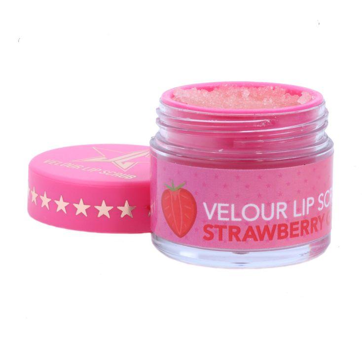 Jeffree Star Velour Lip Scrub Strawberry Gum | Beautylish