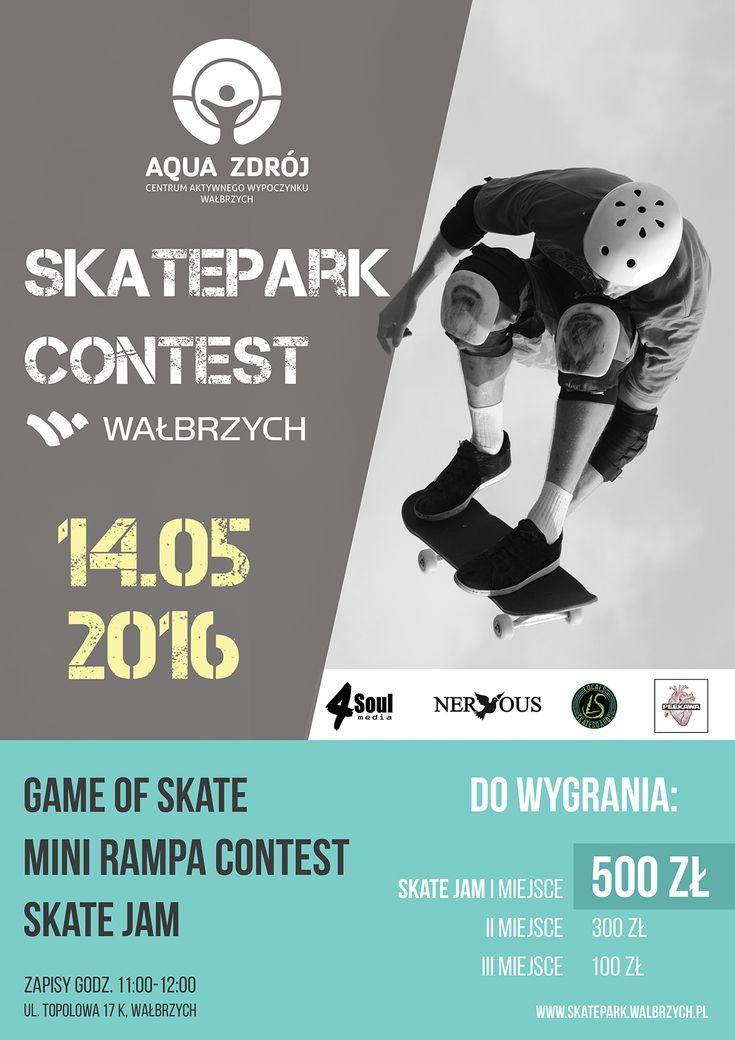 Skatepark Contest | AQUA ZDRÓJ Wałbrzych