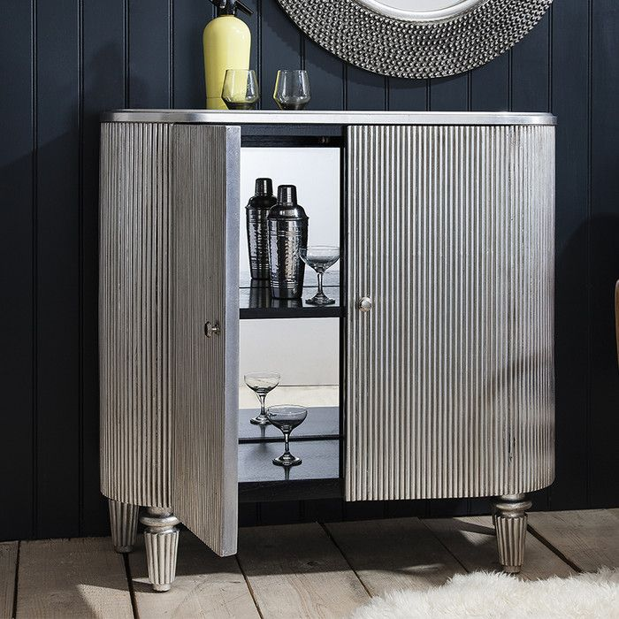Telephone Booth, Living Room Bar And Bar Carts