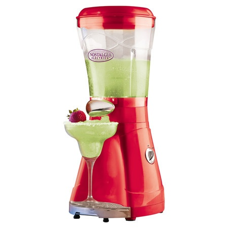 Frozen drink maker with patented grind and shave mechanism. Includes a drip tray for easy cleaning.   Product: Margarita and slush mak...