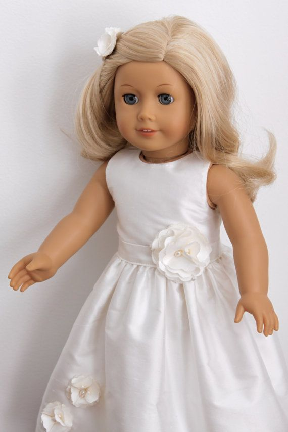 17 best images about doll petite couture on pinterest for American girl wedding dress