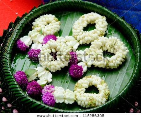 how to make jasmine flower garland
