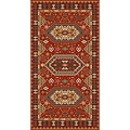 Woven Morocco Red Viscose Area Rug (5' x 7') | Overstock.com