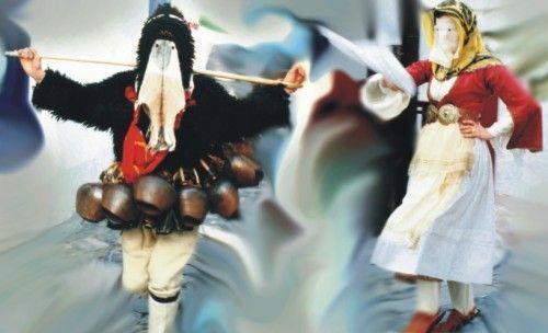 "The dance of ""old man"" and ""korela"".Carnival in Skyros island, Greece/ Ο χορός του γέρου και της κορέλας, απόκριες στη Σκύρο."
