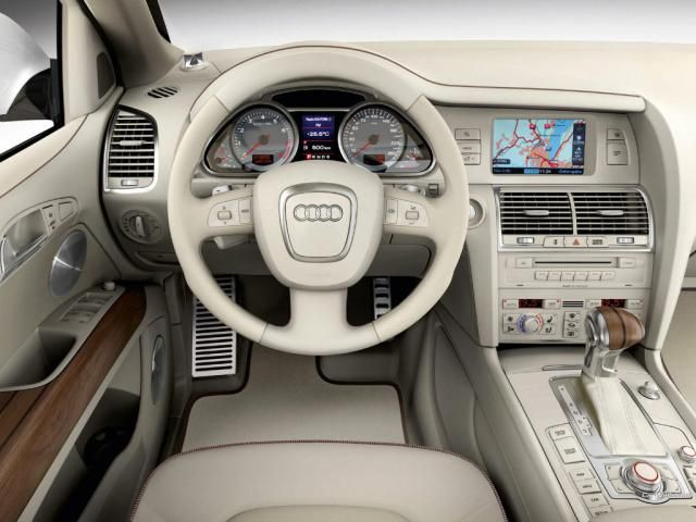 Audi Q7 Coastline Concept - Interior audi q7 coastline concept, special, white, pearl, effect, polar, region, brand, automotive, design, popular, trend