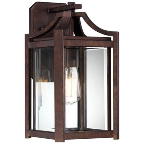 """Rockford Collection 16 1/4"""" High Bronze Outdoor Wall Sconce"""