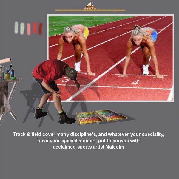 From short track, to 1500, to marathon….. with sports artist Mal Hazeldean https://www.youtube.com/watch?v=76zz2ISakDQ geatvideo@yahoo.com.au