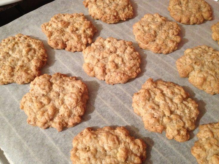 Ricetta: biscotti fatti in casa con cereali! Una merendina golosa e sana!