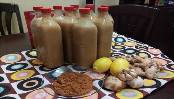 This drink is so powerful that it can change the blood circulation, strengthen the immune system like never before, cleanse the liver and reduce the effects of free radicals. COMPOSITION:  8 cloves of garlic 8 lemons ginger root 4 liters of water  PREPARATION: The first thing you need to do is to wash and peel the ginger. Then, you need to chop it. Do the same thing with the garlic. Then, chop the lemon along with the peel and put all of the ingredients in a blender     The next thing you…