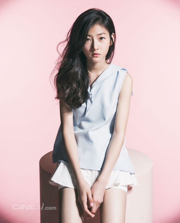 Kim Sae Ron - Cine21 Magazine No.953 Gah this girl is 14, and so talented