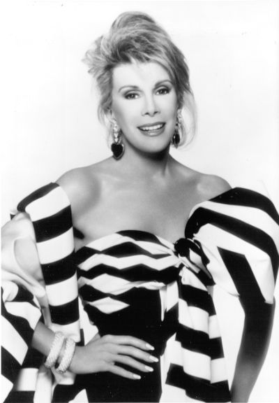 """life goes by fast. enjoy it. calm down. it's all funny."" joan rivers"