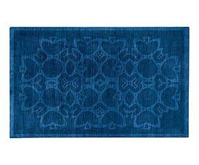 Tappeto in misto lana bikaner Forever oceano - 230x160 cm