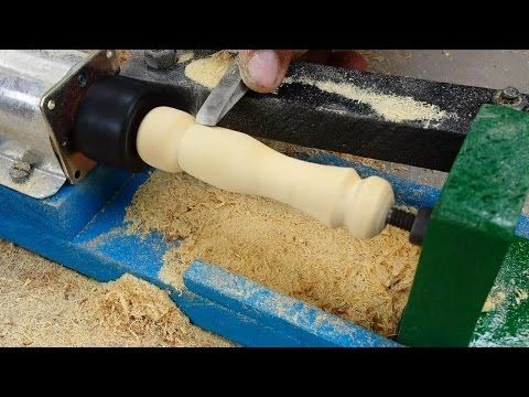 utube how to make wood lathe