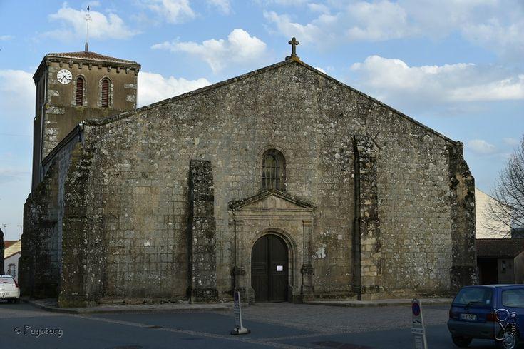 L'église Notre Dame des Epesses
