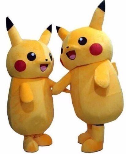 Pokemon Mascot Costume Pikachu Costume Halloween Idea