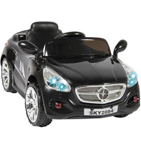 12V Ride on Car Kids RC Car Remote Control Electric Power Wheels W/ Radio & MP3 Black - Walmart.com