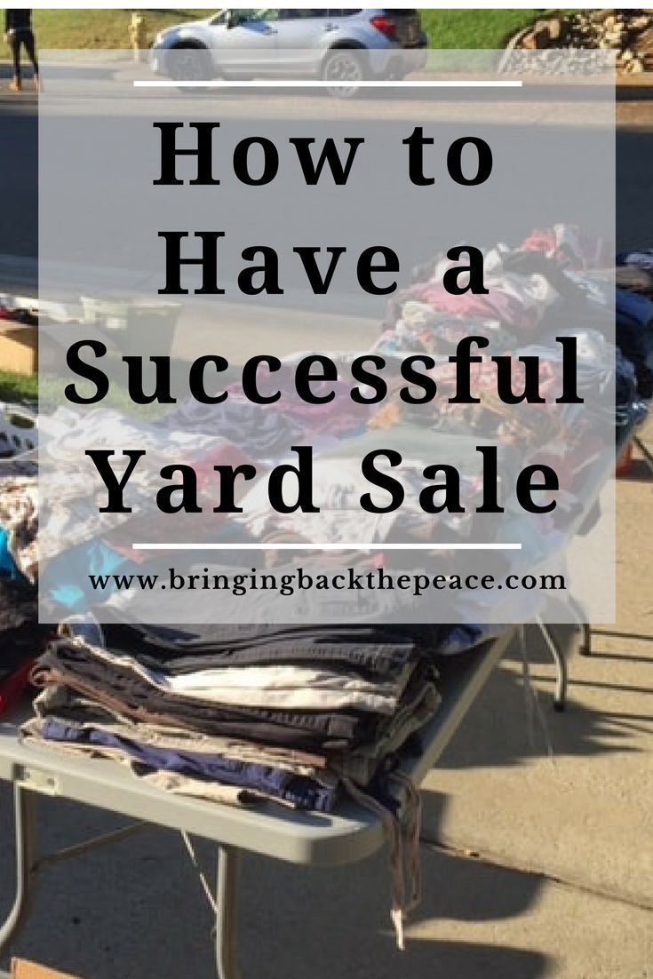 In order to have a successful yard sale, there is some planning that must be done. Please consider the following when you are planning your next yard sale.